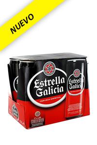 Estrella Galicia lata Pack/6